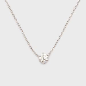 ENUOVE frutta Diamond Necklace Pt950(イノーヴェ フルッタ 0.2ct プラチナ950 ダイヤモンドネックレス アジャスターワカンチェーン)