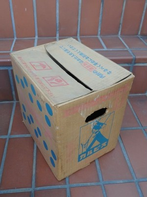 激レア カルピス 大瓶12本用段ボールケース 空き箱 ジャンクですが入手困難です