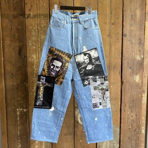 KIDILL / WS Patch Tapered Denim Pants