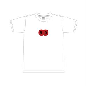 BUオリジナルロゴTシャツ(WHT)ソーシャルデザインVer.