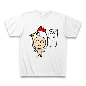 鶏の顔になった人のティーシャツ達
