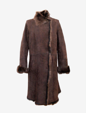 JOSEPH BROWN MOUTON COAT