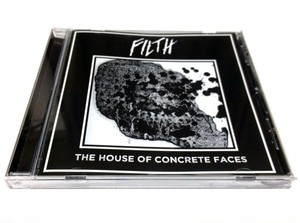 [USED] Filth - The House of Concrete Faces (2017) [CD]
