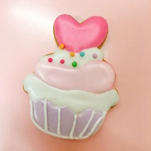 ハートカップケーキ