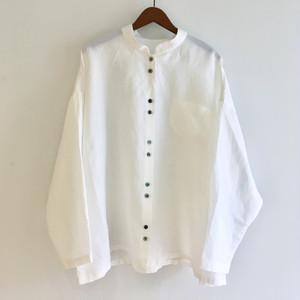 C 52652  Effortless Shirt Tencel/Linen (ほっこりシャツ)