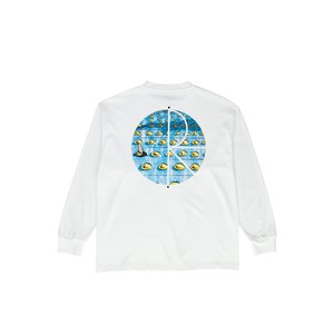 POLAR SKATE CO (ポーラー) / DRAGON'S NEST FILL LOGO LONGSLEEVE -WHITE-