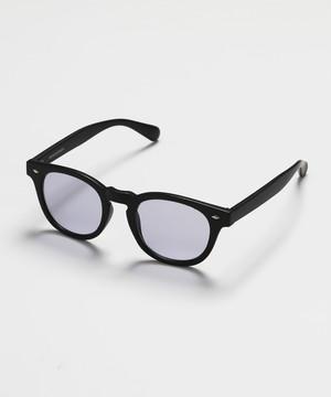 Wellington type Sunglasses [Gray]