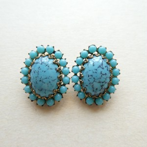 50s vintage earrings made in germany