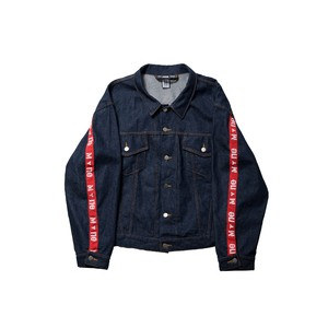 M+ne TAPE DENIM JACKET / INDIGO