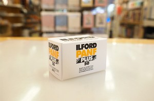 【 35mm モノクロネガ 】ILFORD( イルフォード ) PAN F PLUS 50 36枚撮り