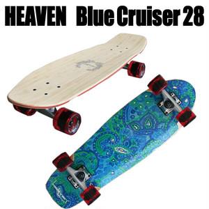 ヘブン スケートボード Blue Cruiser 28
