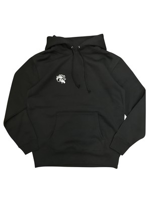 Mr.BULLMAN HOODED SWEAT [BLACK]