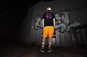 "CEMENT""45"" LAKERS @kenji_graphics"