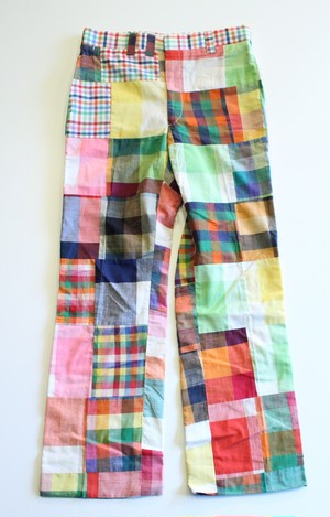 "Vintage ""Patchwork"" Pants"