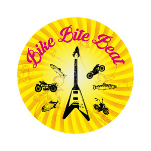 BIKE BITE BEAT STICKER