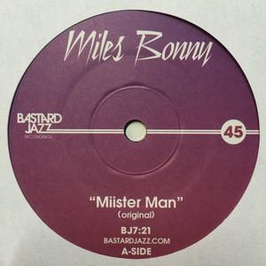 MILES BONNY『 MIISTER MAN 』