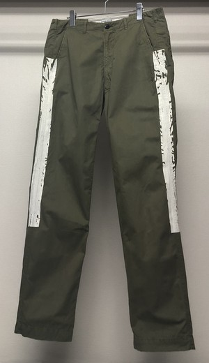 SS2006 STONE ISLAND SIDE LINED TROUSERS