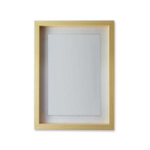 A.P.J ワンスフレーム A4サイズ(21×29.7cm)ナチュラル  木製フレーム ポスター