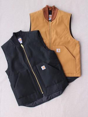 Carhartt【Duck Arctic Quilt Lined Vest】MN