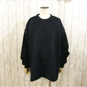 MIX WOOL KNIT(NAVY)
