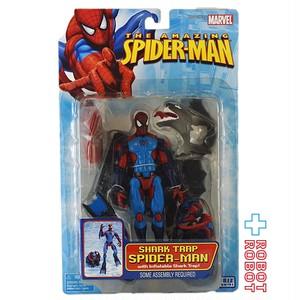 トイビズ アメイジングスパイダーマン 6インチ アクション フィギュア シャークトラップ スパイダーマン 国内版