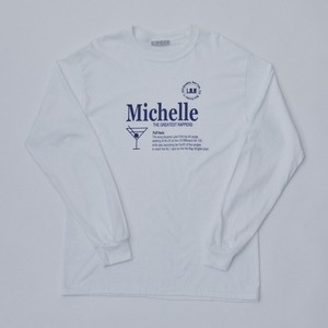 Michelle Long Sleeve T(WHITE)