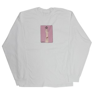 Heart Out L/S T-Shirts (White)