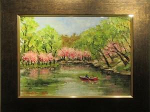 ボート池の桜