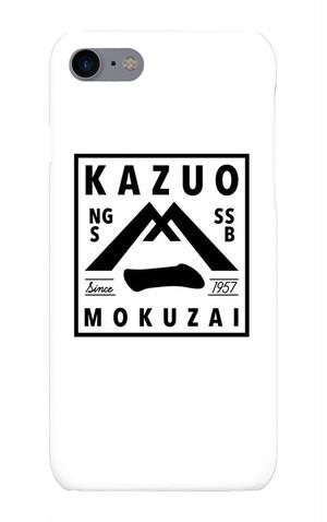 送料無料【KAZUOモクザイ】オリジナルiPhoneケース(iPhone7/8)