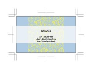 デザイン名刺・ショップカード 271