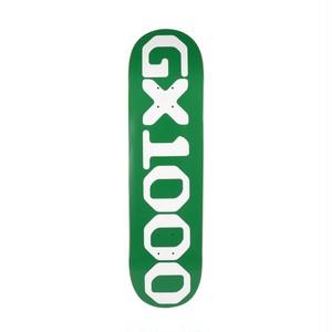 GX1000 OG LOGO Deck 8.0 Green ジーエックス