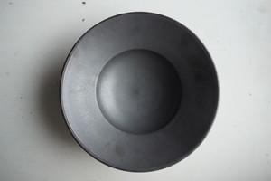 船串篤司 パスタ皿/黒