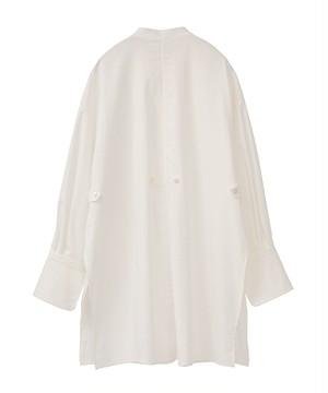 【CLANE】《21SS》TWO WAY ピンタックドレスシャツ