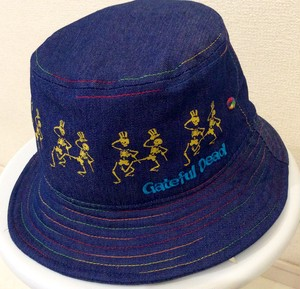 Grateful Dead DANCING SKULL BUKET HAT
