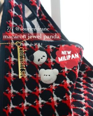 MILIPAN ver. macaron  jewel panda