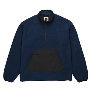 POLAR SKATE CO. GONZALEZ FLEECE JKT OBSIDIAN BLUE L ポーラー フリース ジャケット