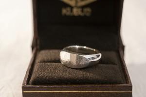 純銀製(Sv9999)dakon-ring(SLIM)