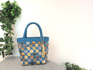 East Meats West BLUE From60 x LIBERTY TOTE BAG TypeT
