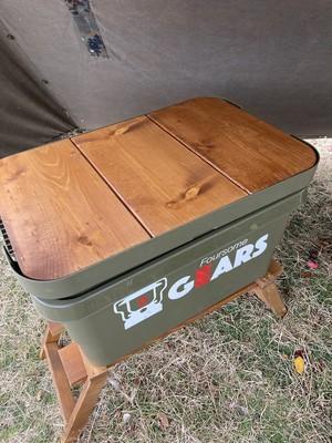 トランクカーゴ 3枚板用 無印頑丈収納ボックス専用オリジナル天板 大サイズ・50L/小サイズ・30L兼用  ftcamp25