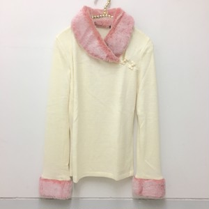 boa fur china knit