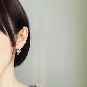 Earring-tsubu tsubu[crushed opal]