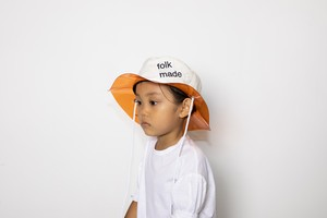 【21SS】folkmade(フォークメイド) lalique hat ハット white beige
