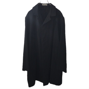 Y'S FOR MEN WOOL LONGCOAT