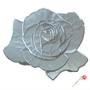 "InnerDecay""REFLECTIVE ROSE BACK PATCH"""
