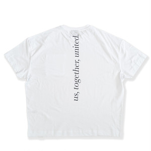 Reclaimed Vintage inspired pocket t-shirt with back print in white
