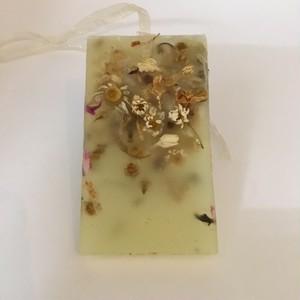 ハンドメイド アロマワックスバー 黄色 カモミールジャスミン