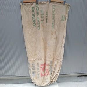 米袋/穀物袋/木綿/襤褸/古布/シードサック/フィードサック/ライスバッグ/飼料袋/リメイク/材料/1/