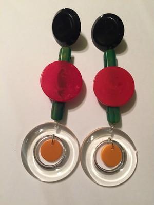 Desiner's Bakelite  earrings (デザイナーズ ベークライト イヤリング )