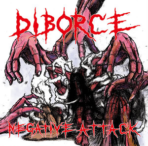 DIBORCE - NEGATIVE ATTACK - 1ST CD(GRIND Osaka、HARD CORE PUNK、CRUST、POWER VIOLENCE、グラインドコア)Bloodbath Records