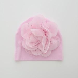 Babyビーニー帽 ピンク